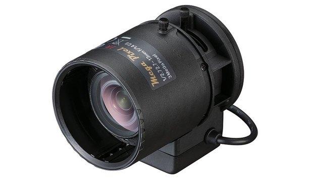 Tamron's M13VG2713IR 3MP vari-focal lens supports high resolution throughout visual light and near-IR spectrum
