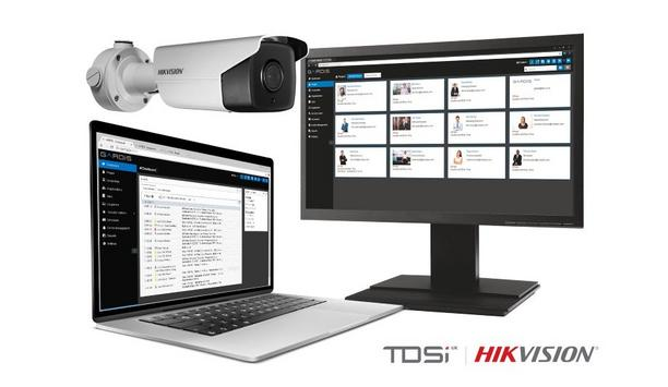 TDSi GARDiS software now features full integration with Hikvision's face recognition terminals and ANPR cameras