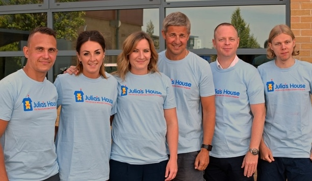 TDSi supports children's charity organisation Julia's House in 2019