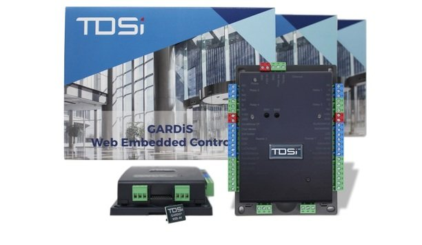 TDSi launches GARDiS cyber secure and web embedded access controller