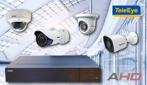 TeleEye launches new AHD solutions with 4MP IR Cameras and 4MP DVRs