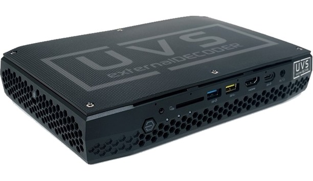 UVS launches ExDec Decoder and Software Suite to connect outdated CCTV systems to video walls