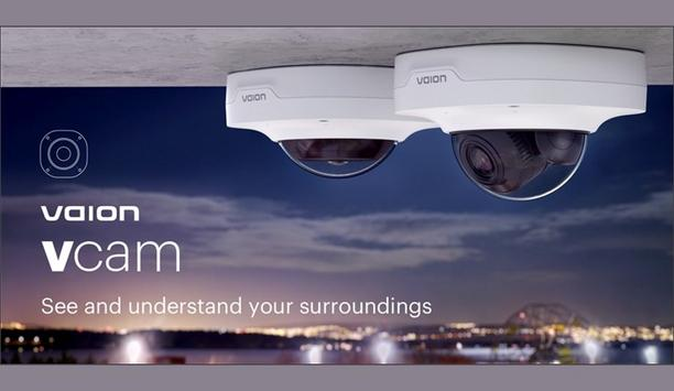 Vaion Ltd. Unveils Latest Line Of Cameras, Vaion vcam With Integrated Directional Audio Analytics