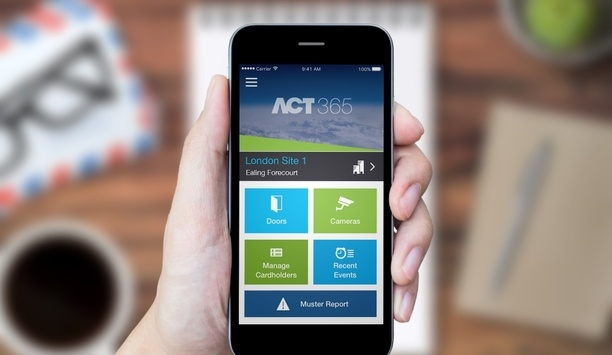 Vanderbilt's ACT365 cloud-based access control solution protects Work.Life facility in London