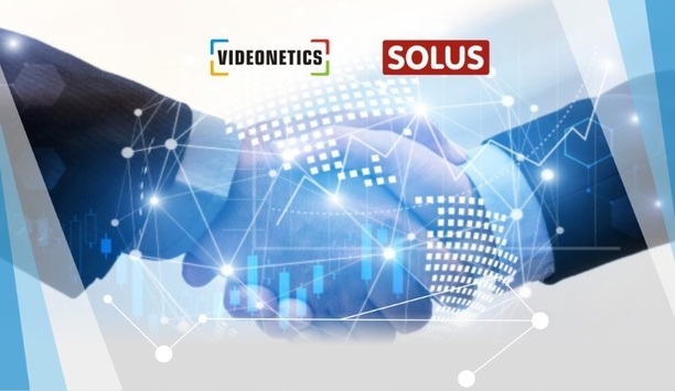 Videonetics announces technology partnership with Solus to help reduce false alarms