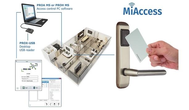 Videx enhances standalone offline MiAccess proximity access control solution