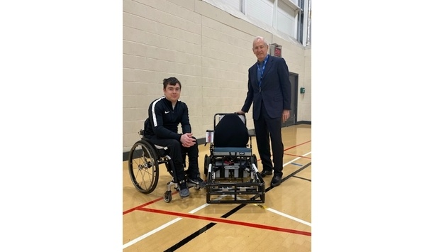 Videx encourages power chair football with donations to Newcastle Power Chair Football Club