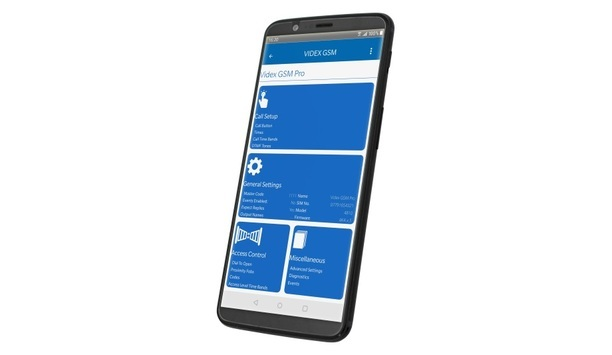 Videx Security Announces Release Of New Installer App For Videx GSM Intercom Systems