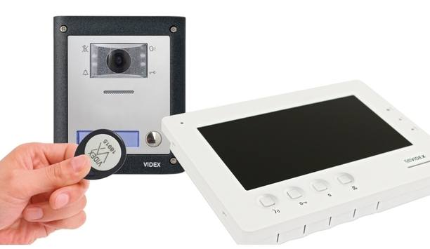 """Videx launches new video entry system with 3.5"""" handsfree colour monitor"""