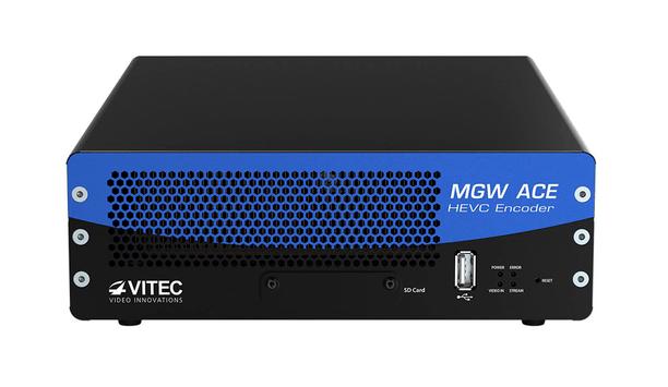 VITEC introduced MGW Ace Encoder firmware v2.0 HEVC encoder