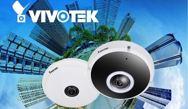 VIVOTEK unveils H.265 fisheye cameras with Smart 360 VCA Deep Learning technology