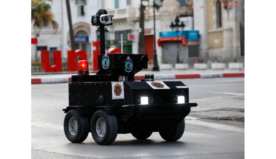 VIVOTEK partners with ENOVA Robotics' P-Guard project to impose lockdown restrictions on citizens