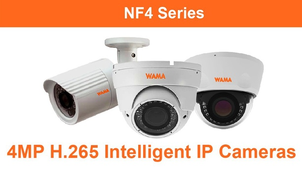 WAMA adds two new motorised vari-focal models into its NF4 Series 4MP H.265 IP cameras