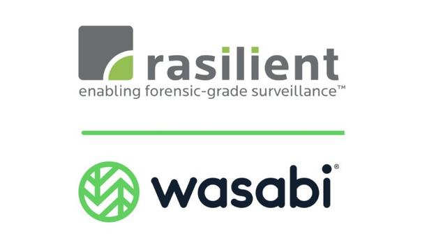 Wasabi Technologies and Rasilient Systems partner to deliver high performance video surveillance storage at the edge