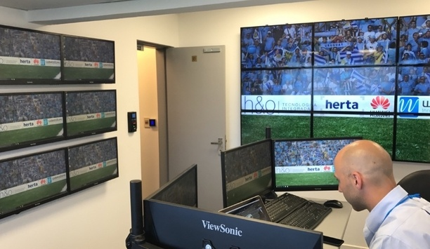 Wavestore VMS deployed at three of the largest football stadiums in Montevideo, Uruguay
