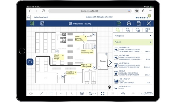 WeSuite Site Survey documentation tool allows users to create detailed site surveys