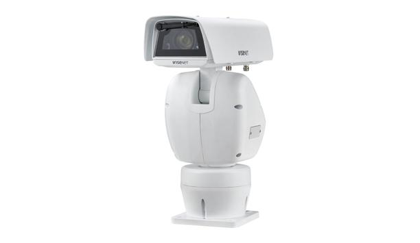 Hanwha Techwin unveils Wisenet TNU-6320 Network Positioning Camera
