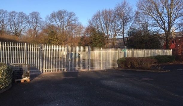 Zaun's Palisade fencing, electric doors and barriers installed at a boiler business to prevent theft