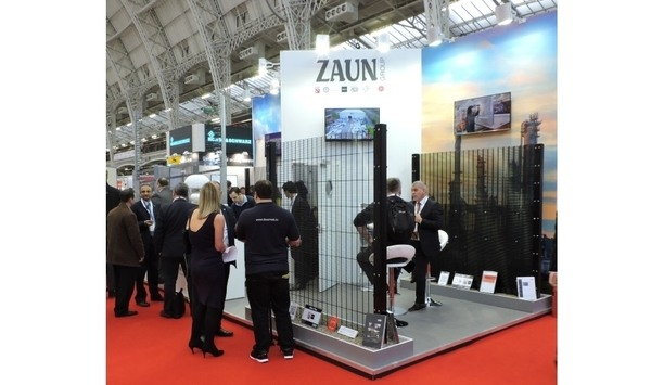 Zaun's HVM-based ImpaktFence and CorruSec SR3 fencing at UK Security Expo 2017