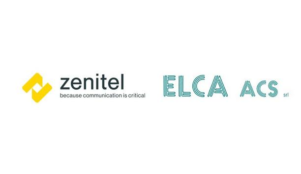 Zenitel appoints ELCA ACS Srl as the centre of excellence for Italy for onshore safety and security solutions