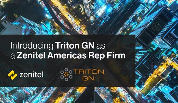 Zenitel partners with Triton to serve as their manufacturer's representative