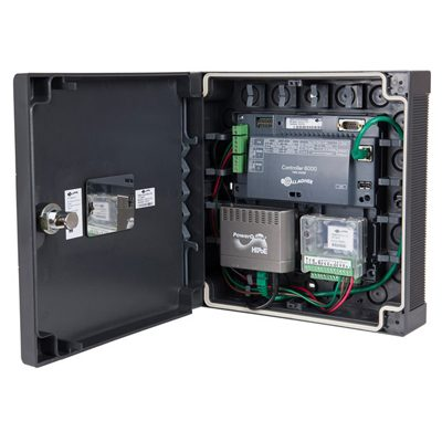 Gallagher 2 Door Kit - PoE+ for distributed one to two door access control using an Ethernet connection