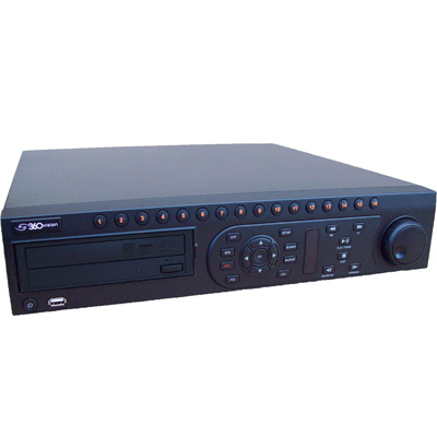 360 Vision Avalon T 16 channel digital video recorder with 16 inputs