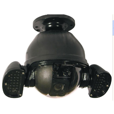 360 Vision Black Hawk Dome - 36x Col/Mono External external fully functional CCTV dome with dual IR lamps