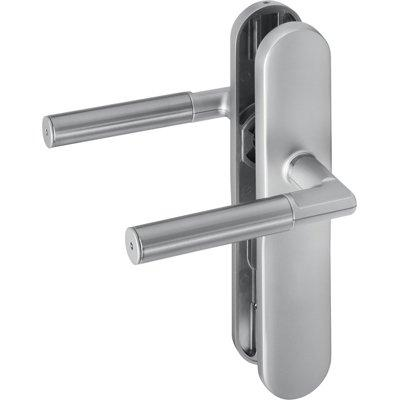 ASSA ABLOY 492LH8---11---6 Fitting Without Code Keypad In Long Escutcheon Variant Without Cylinder Perforation