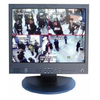 New all in one 4CH DVR LCD monitor