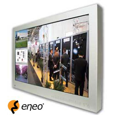 New eneo TFT Monitors with integral Multiplexer from Videor Technical