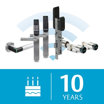 Aperio®: 10 Years Of Wireless Access Control