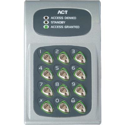 ACT ACT 10 Digital Keypad audio, video, keypad entry with backlit keypad