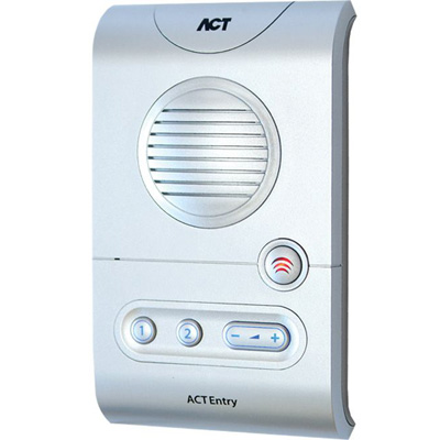ACT ACTentry A5 Intercomaudio, video or keypad entry with volume control buttons
