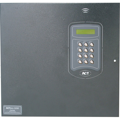 ACTpro 3200, 4-door controller with a 3amp power supply & cable management system