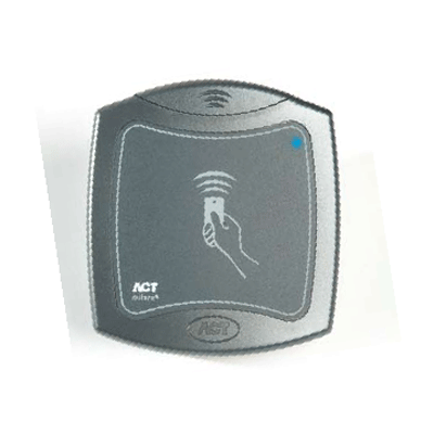 ACT ACTproMF 1040 access contol reader with connector block