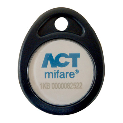 ACTpro mifare 1KB Fob - a durable fob compatible with the ACTpro Mifare Range