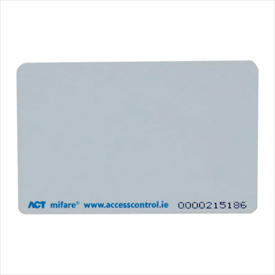 The ACTpro mifare 1KB ISO Card, compatible with the ACTpro Mifare Range