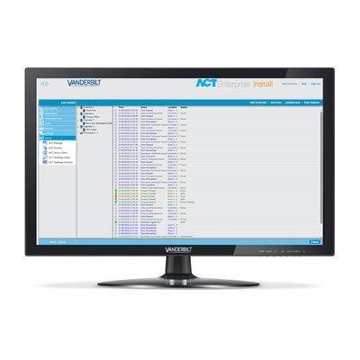 Vanderbilt ACT Enterprise Lite Version 2.12 access control software