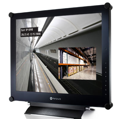 AG Neovo SX-19P CCTV monitor with highly efficient  surveillance performance