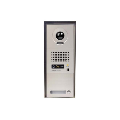 Aiphone GT-1V/SHB colour video surface mounted door station with rainhood