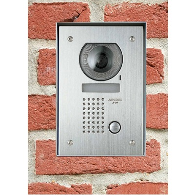 Aiphone JFSS-1 1-way surface stainless steel video panel with colour camera