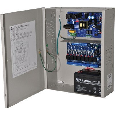 Altronix AL1012ACMCB220 Power Supply/Charger with Multi-Output Access Power Controller