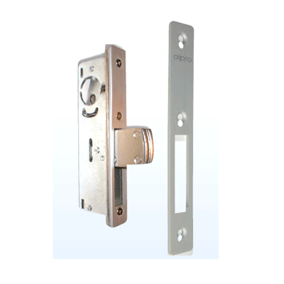 Alpro 5218501 mechanical digital lock with stainless steel laminated lockbolts
