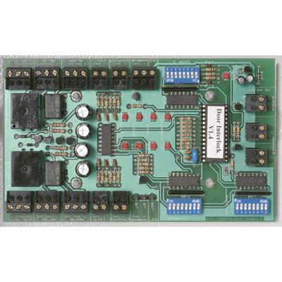 Alpro IEC-IB1PSU12V5AMP Interlock control board mounted in metal