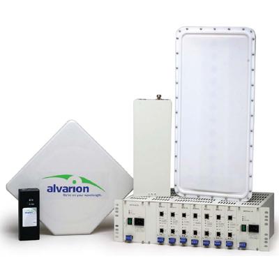 Alvarion BreezeACCESS 4900 for secure wireless connectivity