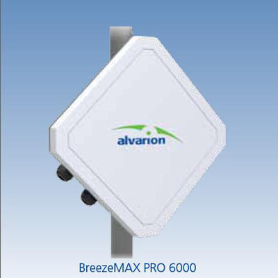 Alvarion BreezeMAX PRO 6000 one-cable WiMAX outdoor CPE unit