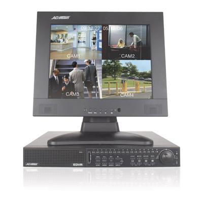 American Dynamics ADEDVR009064 9 channel DVR