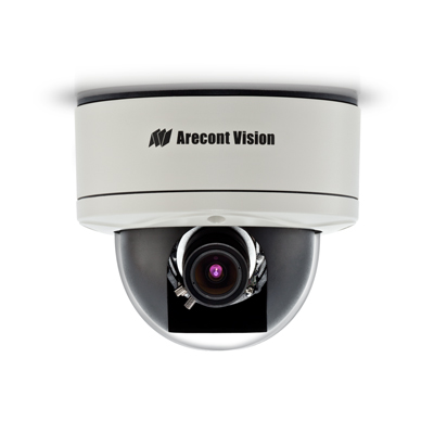 Arecont Vision AV1355-1HK 1.3MP colour IP dome camera with heater