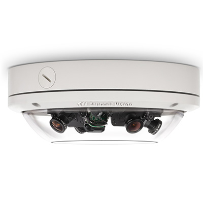 Arecont Vision AV20175DN-08 20 MP Wide Dynamic Range Day/night Indoor/outdoor IP Dome Camera